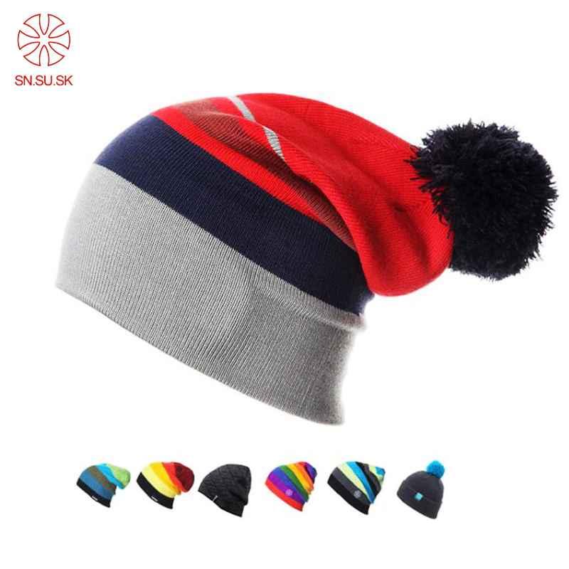 2019 Winter Gorros Snowboard Winter Ski Skating Hats Beanies Head