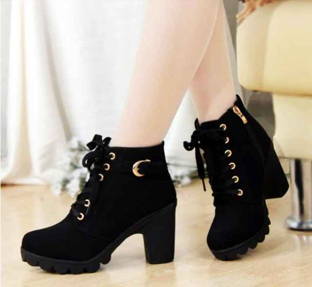 2019 Hot New Women Shoes Pu Sequined High Heels Zapatos