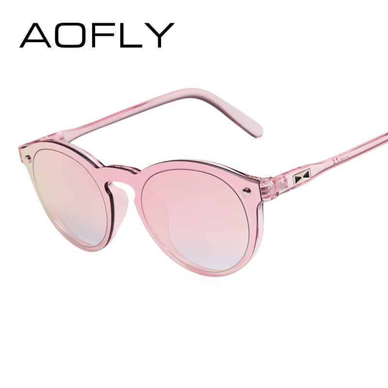 Women Sunglasses Oval Fashion Female Men Retro Reflective Mirror Sunglasses