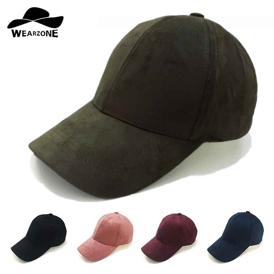 2017 New Suede Baseball Cap Mens Casquette Bone Cap Fashion