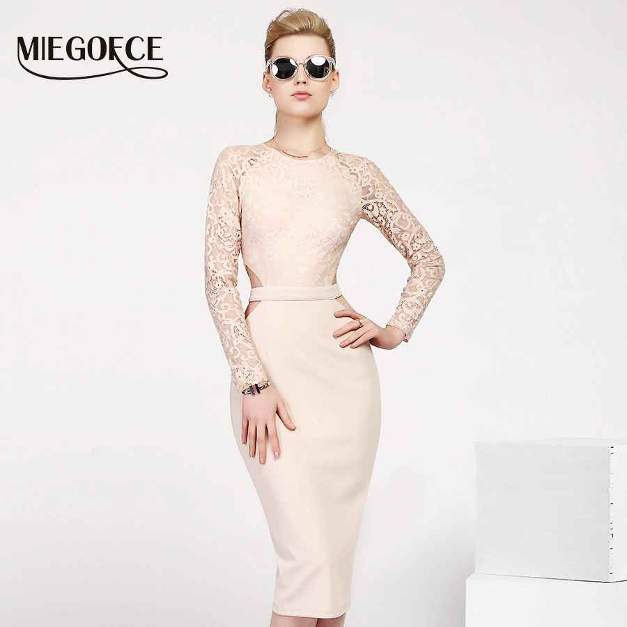 Miegofce 2019 New Design Summer Women Dresses To The Knee