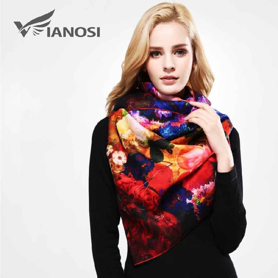 Designer Winter Scarf Women Shawl Printing Wrap Luxury Scarves Woman