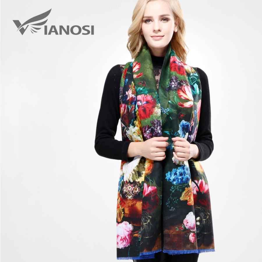 Newest Design Bandana Printing Winter Scarf Women Shawls Thicken Warm