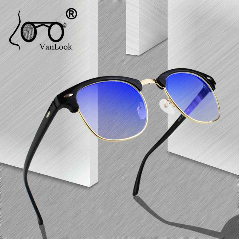 Computer Glasses Transparent For Women Men Spectacle Frame Anti Blue