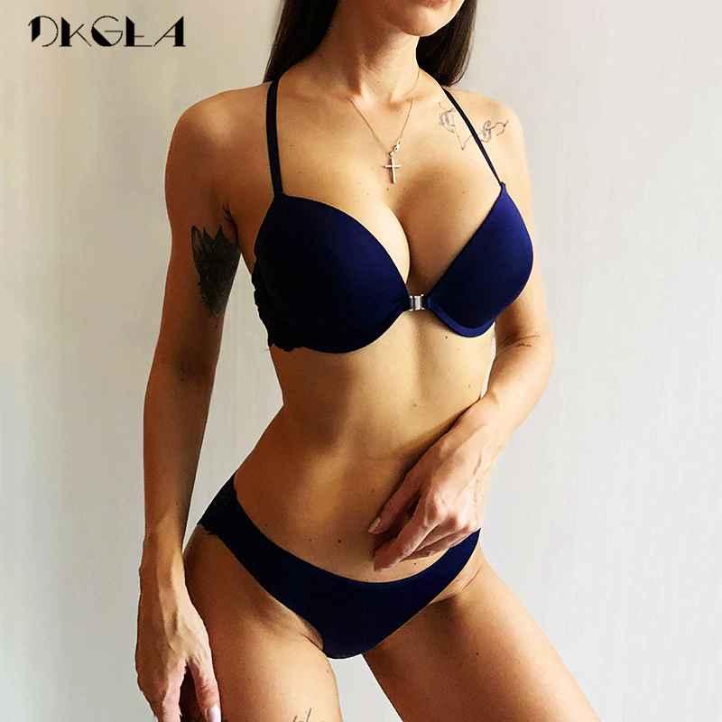 Women s Underwear Set Y-Line Straps Sexy Victoria Lingerie Plus Size