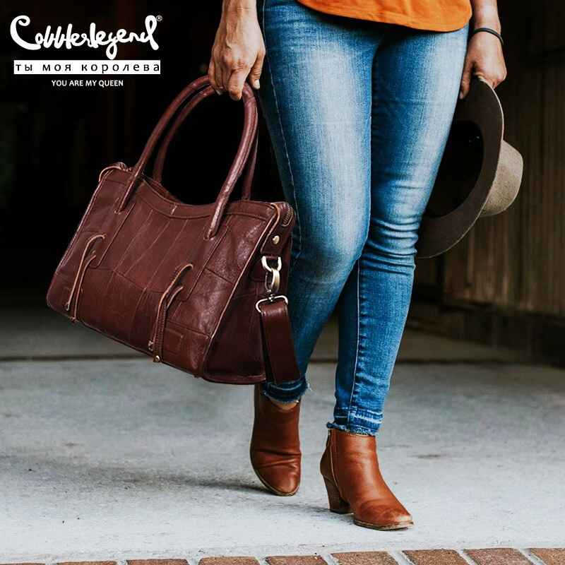 Original Genuine Leather Women Shoulder Bags 2019 New Leisure Trend