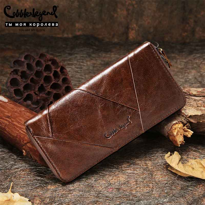 2019 New Retro Trend Women's Wallets For Lady Genuine Leather