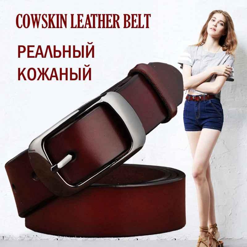 San Vitale New Designer Fashion Women s Belts Genuine Leather Brand