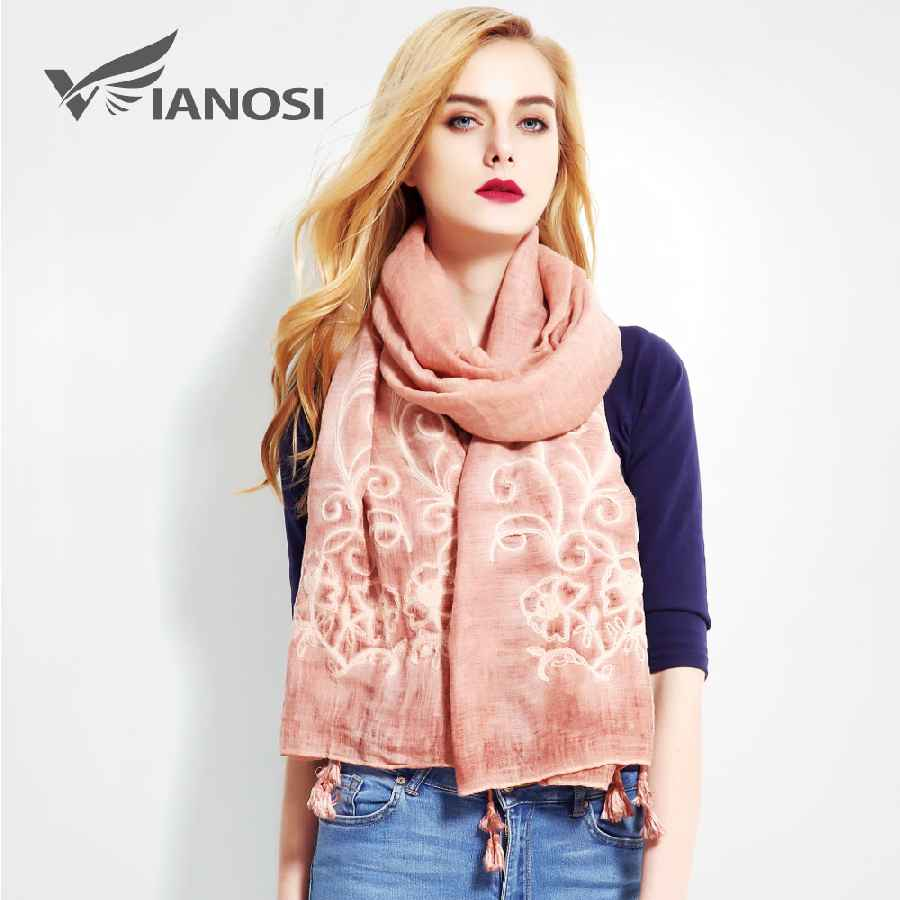 Fashion Bandana Luxury Cachecol Brand Cotton Scarf Women Shawl High