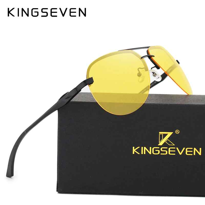 Polarized Night Vision Sunglasses Mens Original Box Goggles Women Designer