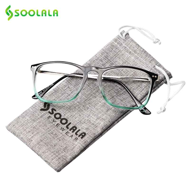 Soolala Oversized Womens Mens Full Rimmed Reading Glasses Large Horn