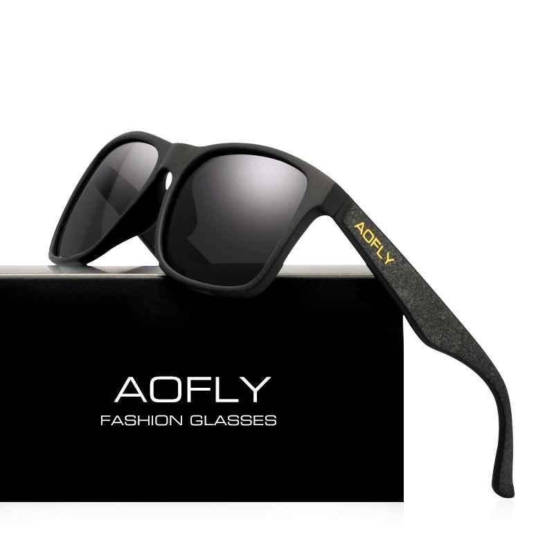 Night Vision Glasses Polarized Sunglasses Men Yellow Anti Glare Vintage