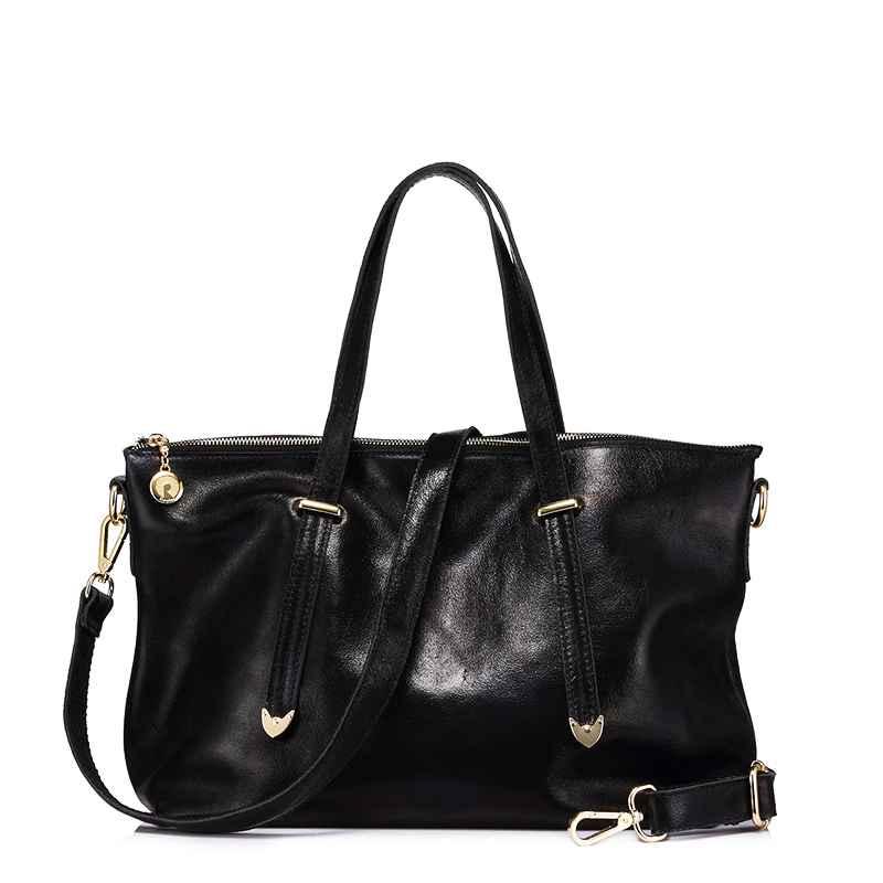 Genuine Leather Women Handbag Ladies Messenger Bags Female Large Capacity