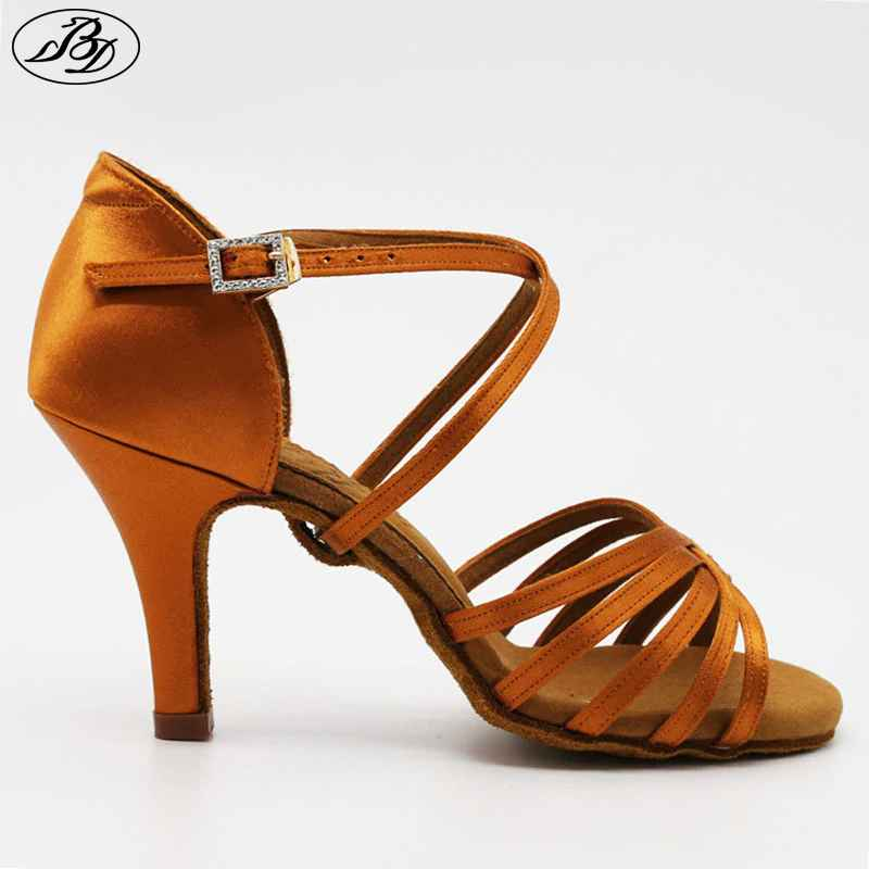 New Women Latin Bd Dance Shoe 216 Satin Sandal Ladies
