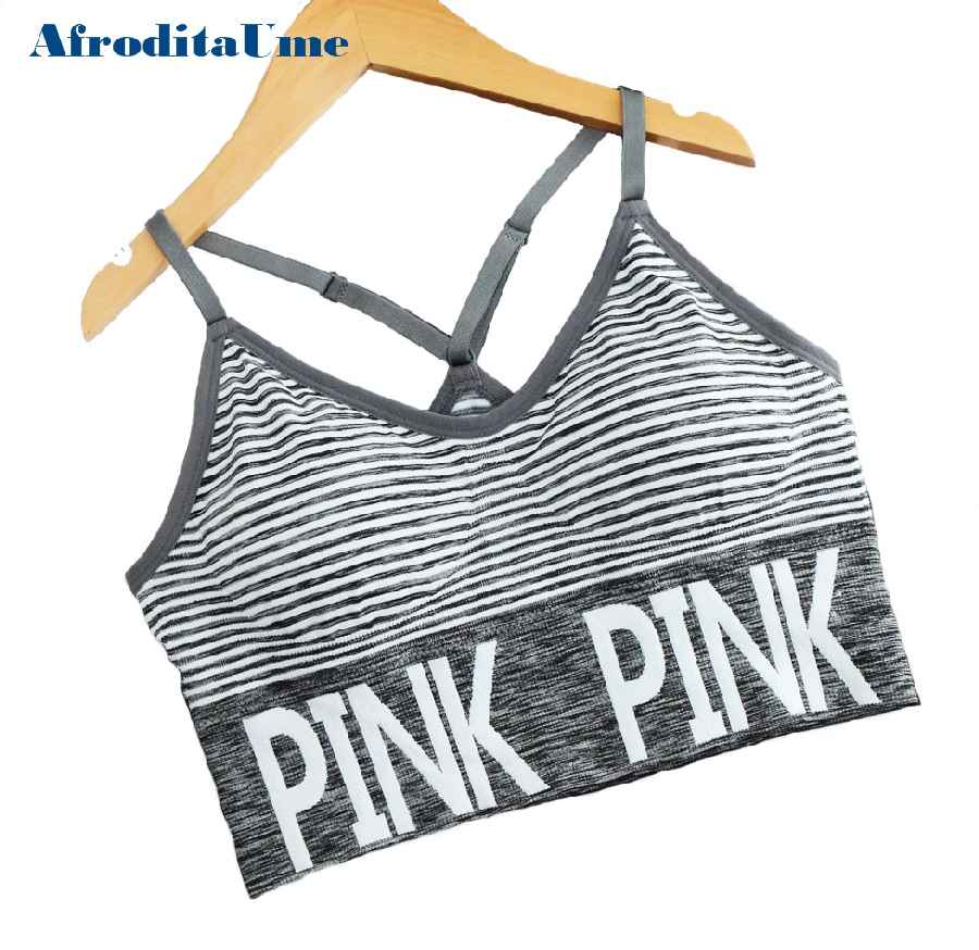 Afroditaume Women Crop Tops Vs Camisole Bralette Strappy Unlined Fitness