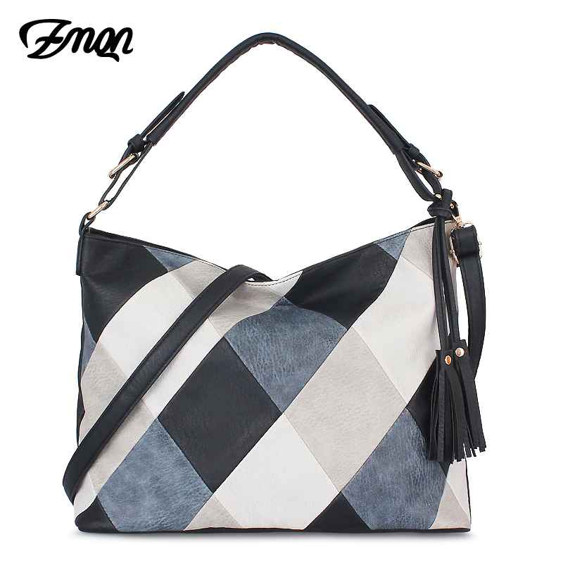 Hand Bags For Women 2019 Patchwork Luxury Handbags Women Bags