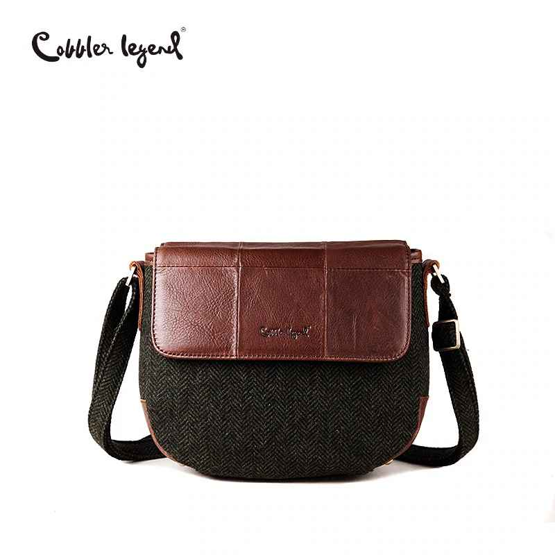 Women Genuine Leather Shoulder Bag Vintage Small Bags For Women