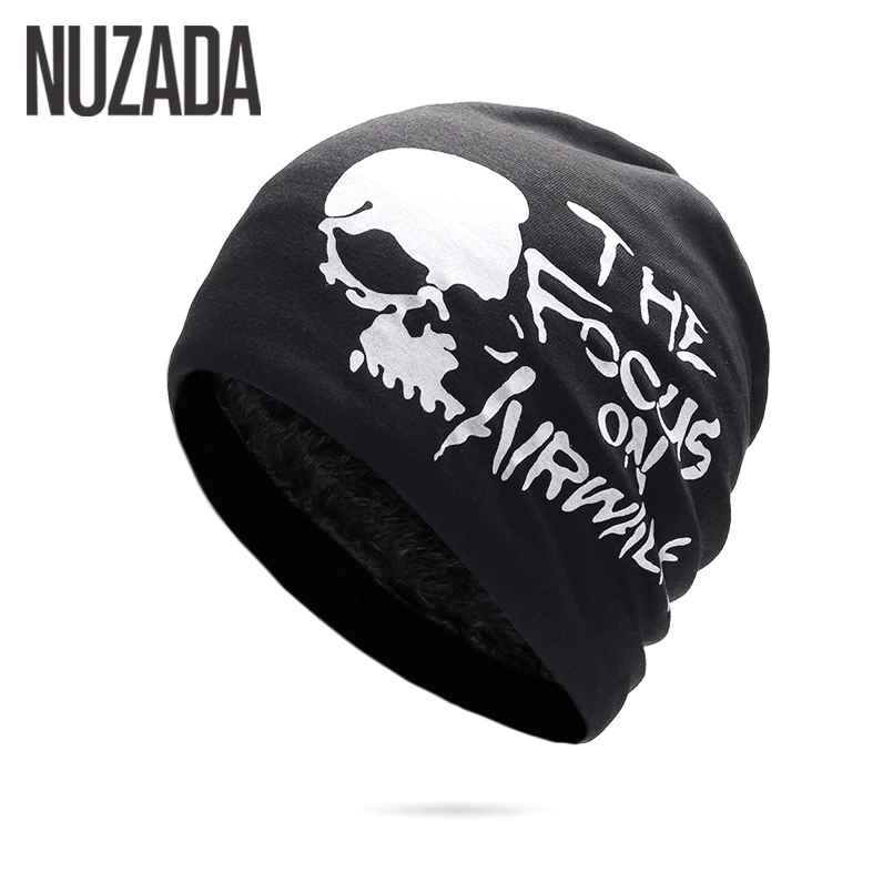Nuzada Winter Hats For Men Women Skullies Beanie Hat Hedging