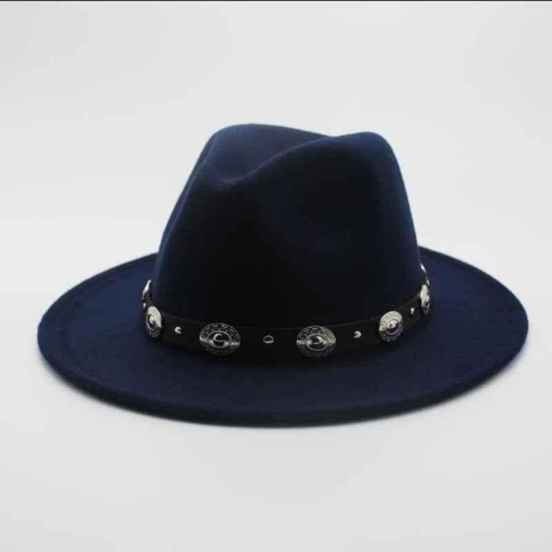 Fashion Wool Men s Women s Winter Autumn Fedora Hat With Diy