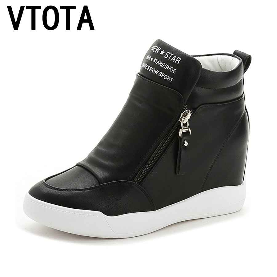 Vtota High Heels Shoes Woman Fashion Fringe Women Sneakers Loafers