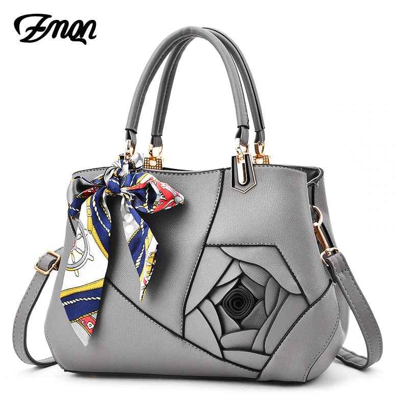 Pu Leather Bags Handbags Women Famous Brands Scarves Crossbody Bag