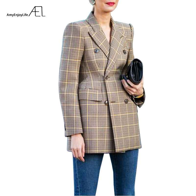 Blazers ael women winter autumn suit jacket high-quality 2017 grace
