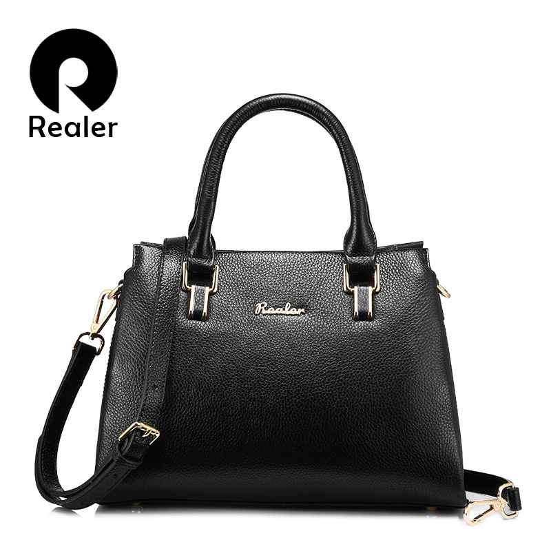 Women Handbags Genuine Leather Luxury Shoulder Bag Fashion Zipper Messenger