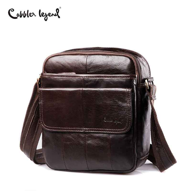 2019 Men Messenger Bag Men Genuine Leather Shoulder Bag Designer