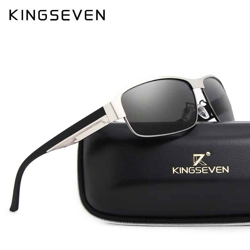 Brand Design Men Sunglasses Polarized Sun Glasses Mirror Lens Classic