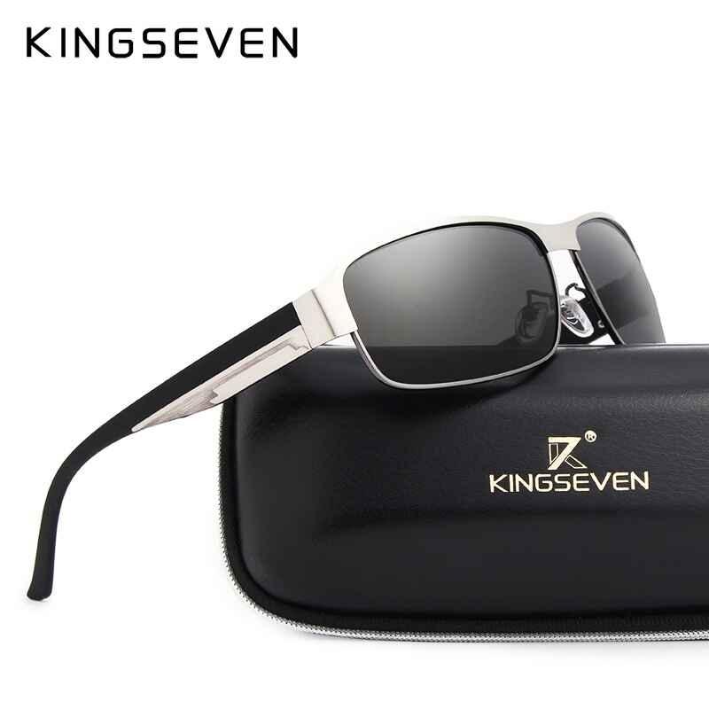 Brand Design Men Sunglasses Polarized Sun Glasses Mirror Lens Classic