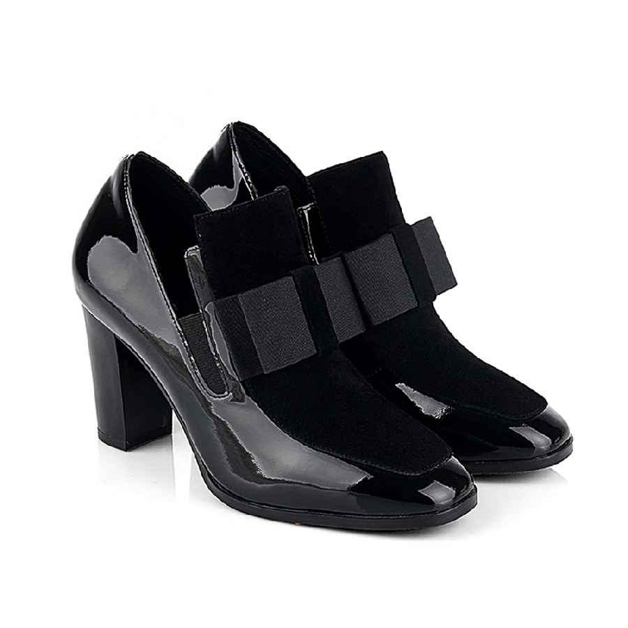 High Heels Women Shoes Sexy Boots Chunky Heels Shoe Bottes