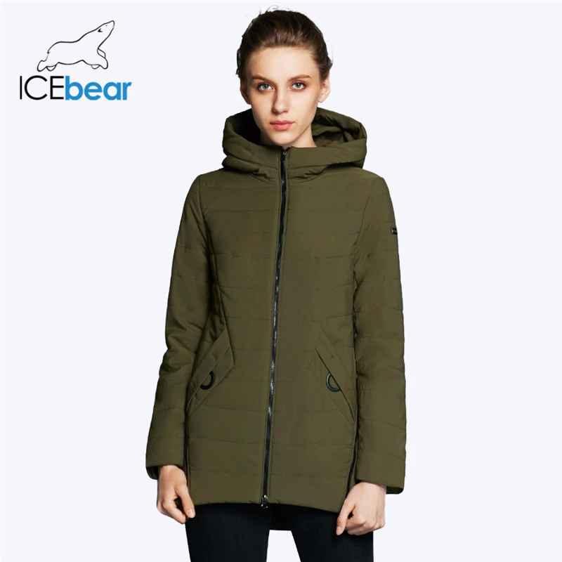 Icebear 2019 New Women s Jacket Autumn Woman Coat Fashion Female