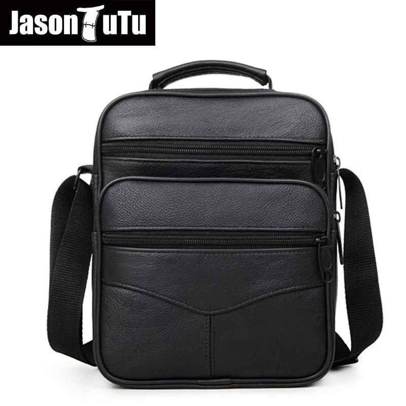 Jason Tutu High Quality Genuine Leather Men's Leisure Single-Shoulder Bag