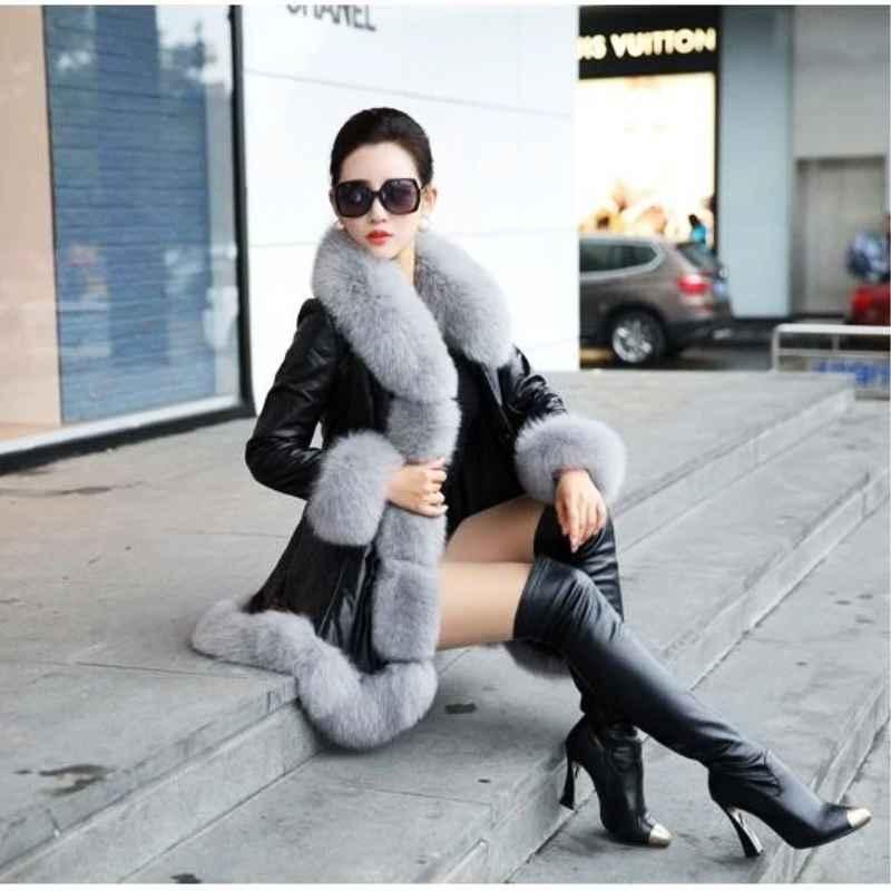 Coats hot sale winter womens faux fur high quality faux