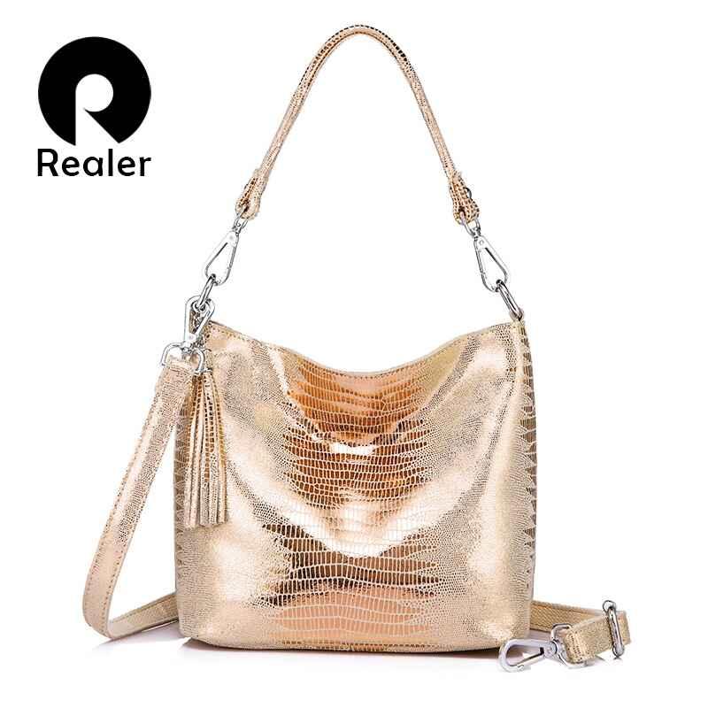 Women Handbags Genuine Leather Crossbody Shoulder Bags Female Animal Prints