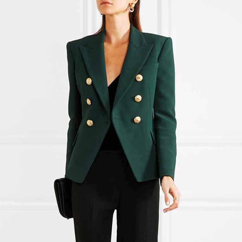 Blazers high quality newest 2018 designer blazer womens long sleeve