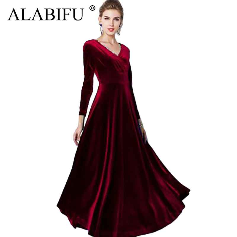 Sweaters alabifu autumn winter dress women 2019 casual vintage ball