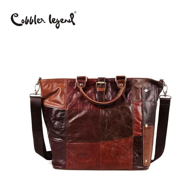 Genuine Leather Bags For Women Large Capacity Women Men Shoulder