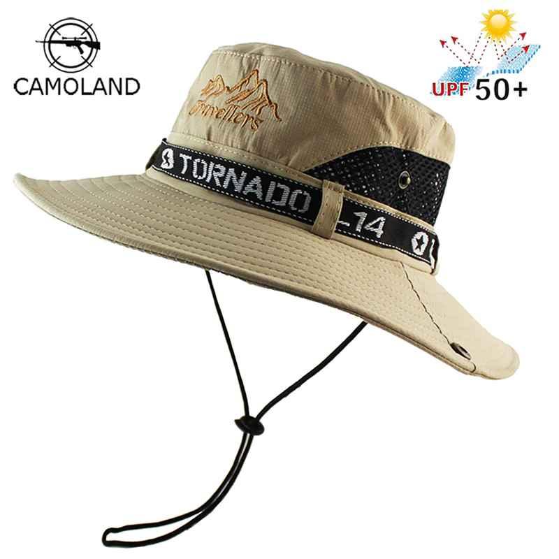 Upf 50+ Sun Hat Bucket Autumn Men Women Fishing Boonie