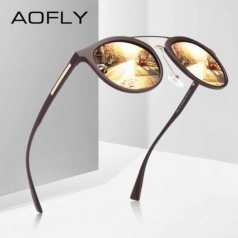 Classic Polarized Sunglasses Women Vintage Tr90 Frame Driving Sunglasses Men