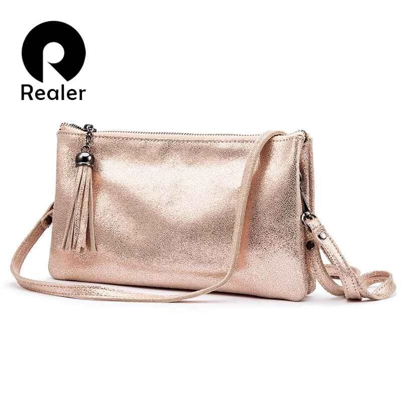 Crossbody Bags For Women Genuine Leather Handbags Female Shoulder Messenger