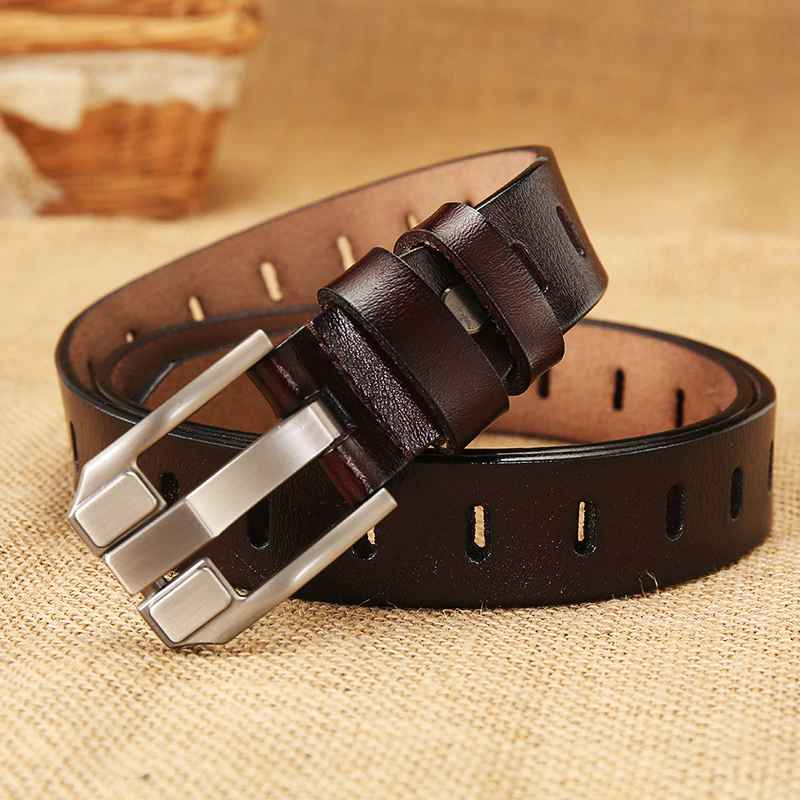 DwtsHigh Quality Women Fashion Belt Female Genuine Leather Belts For