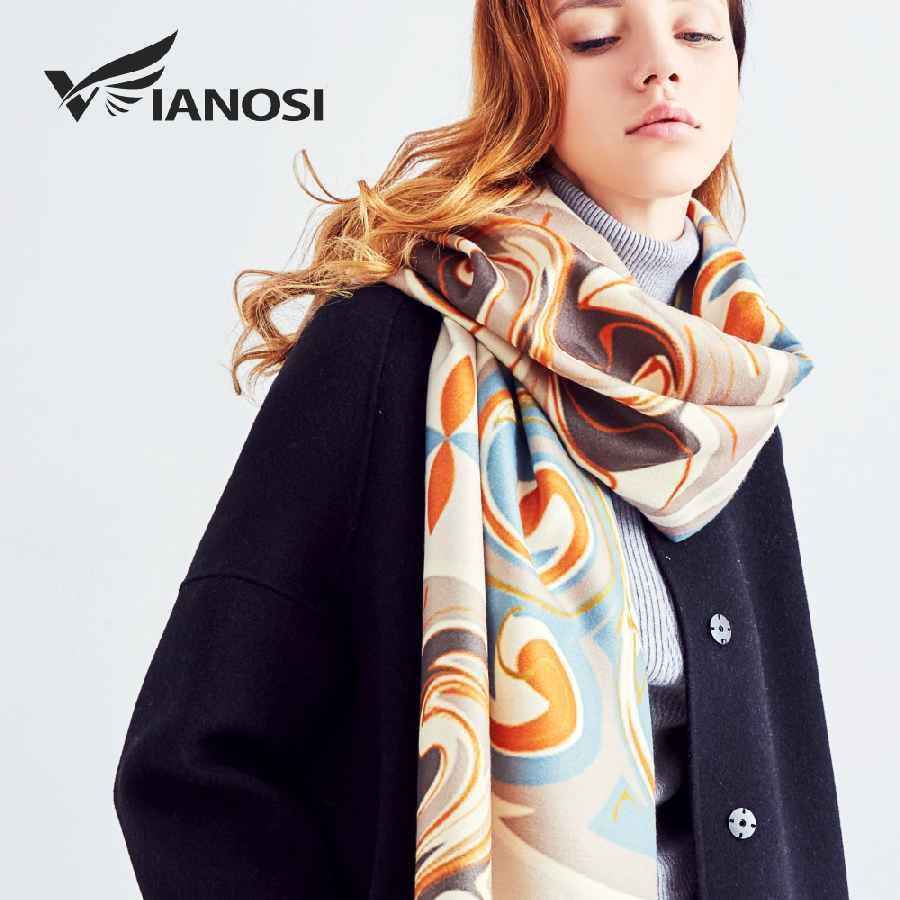 Wool Scarf Winter Scarves Women Warm Shawl Fashion Foulard Femme