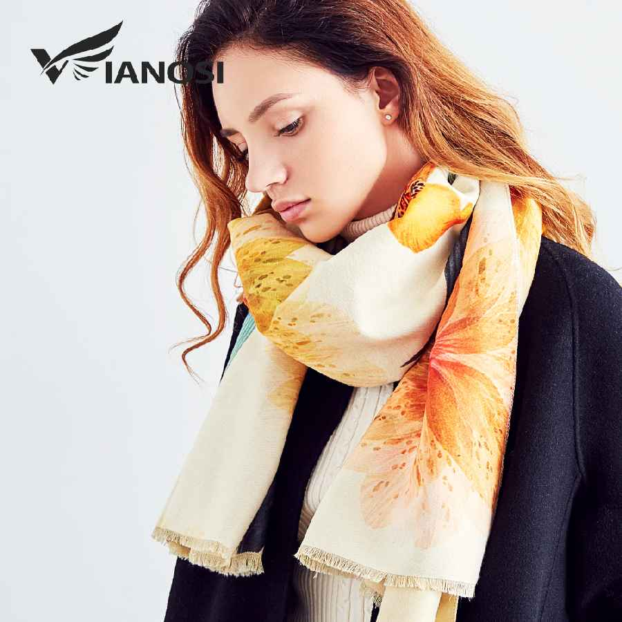 Newest Design Bandana Winter Scarf Women Shawls Thicken Warm Scarves