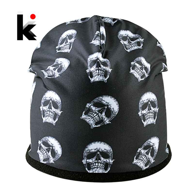 Super Cool Skull Pattern Hats For Men And Women Personality