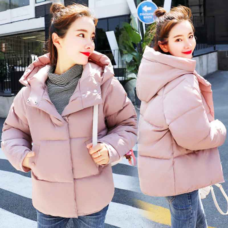 Parkas kisbini new winter jacket for women korean style coat