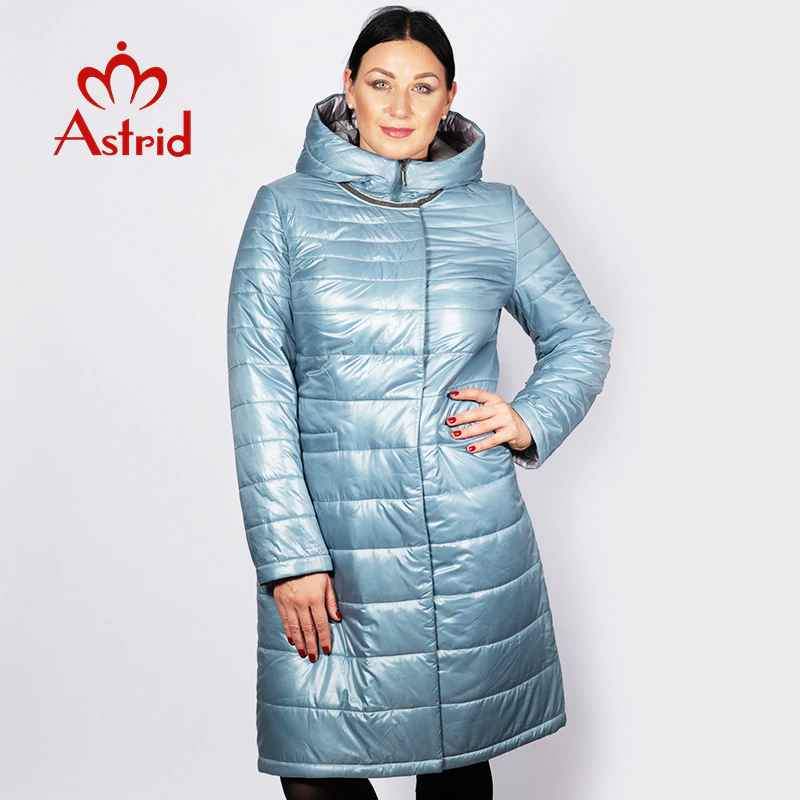 Astrid 2019 Spring Winter Women Jacket Windproof Warm Hooded Slim