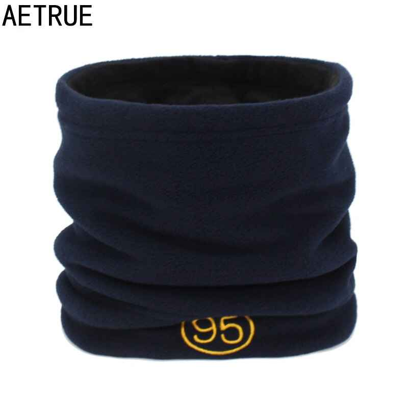 Aetrue Women Winter Scarf Ring Men Knitted Scarves For Women