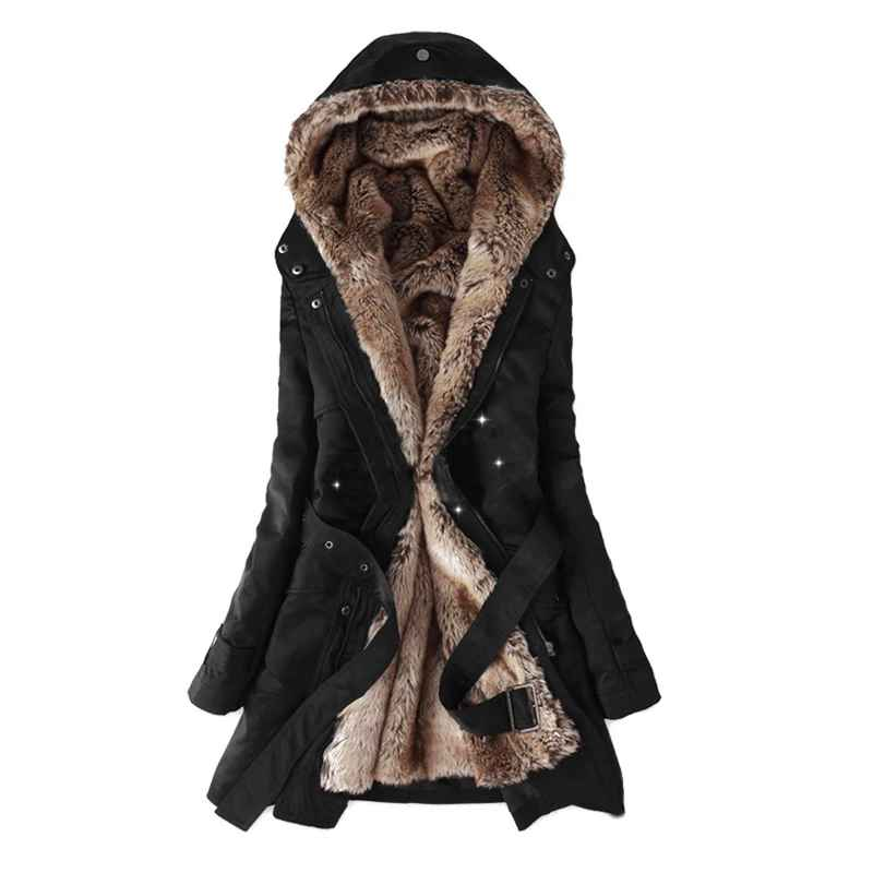 Parkas women winter jacket 2019 casual ladies basic coat jaqueta