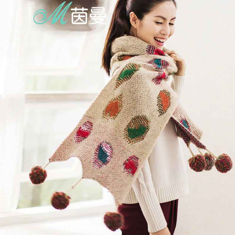 Inman Autumn And Winter New Arrival Super Long Wool Warm
